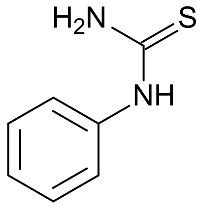 Phenylthiocarbamide_structure
